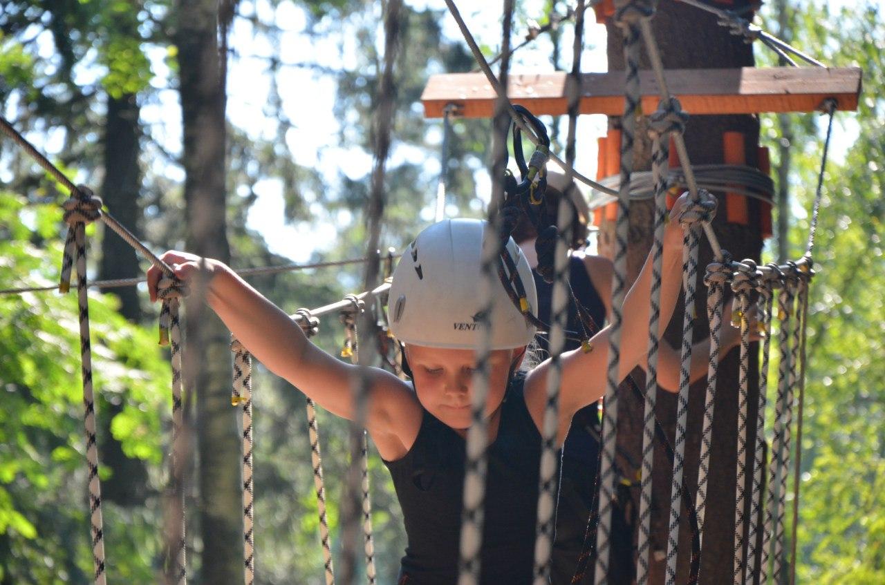 Веревочный парк в Репино