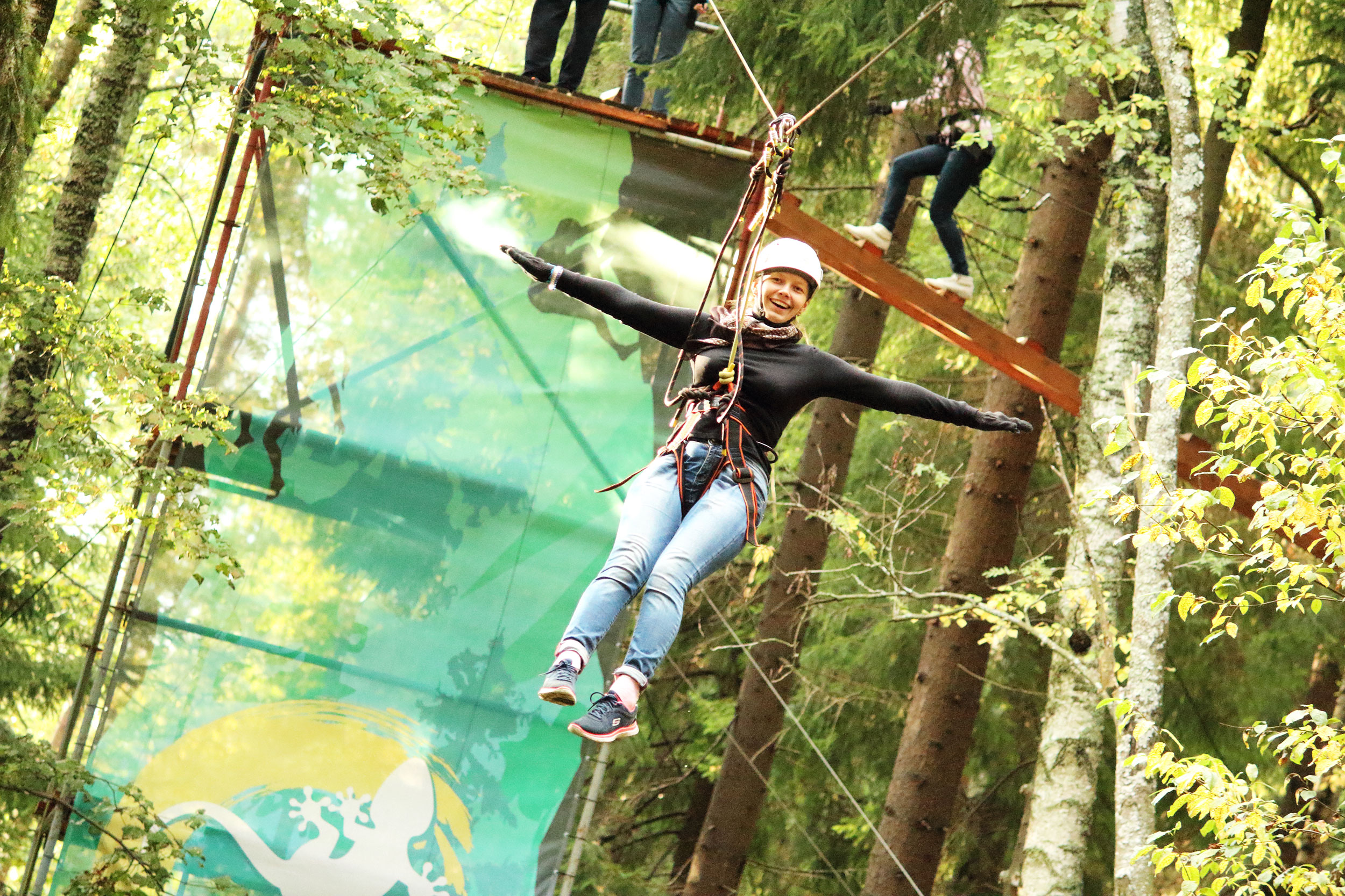 Веревочный парк – лучшее место для активного отдыха!