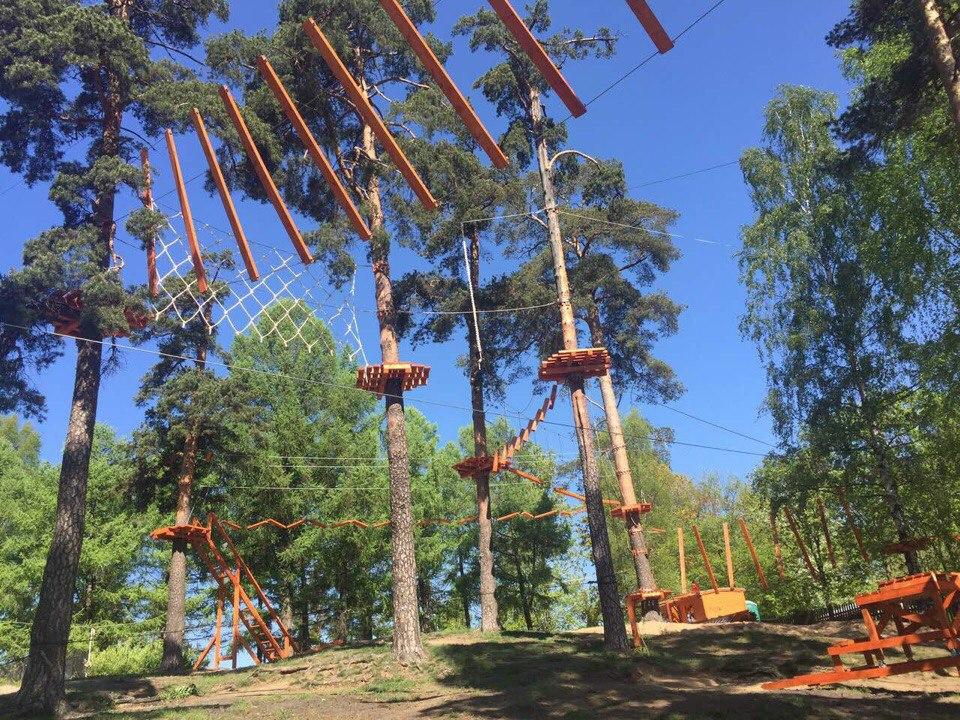 Открытие нового парка в Озерках